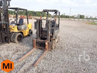 NISSAN MCP1F2A25LV 3920 Lb Forklift