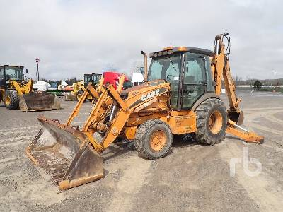 2008 CASE 590SM Loader Backhoe