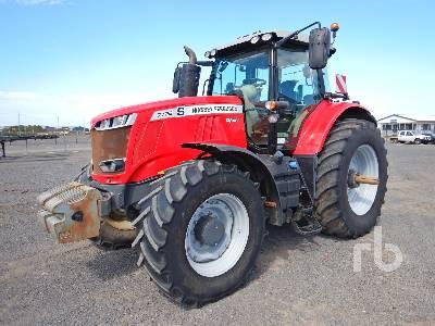 2017 MASSEY FERGUSON 7726 MFWD Tractor