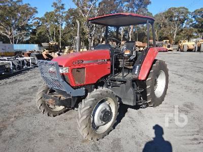 2007 CASE IH CX50 MFWD Tractor