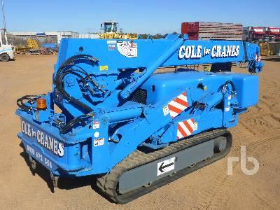 2007 MAEDA M305C 3 Ton Crawler Crane