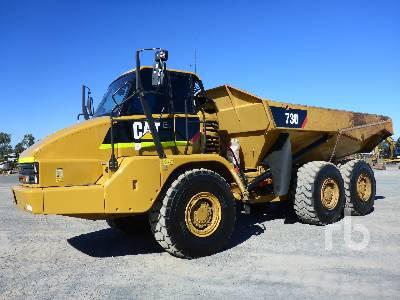2011 CATERPILLAR 730 6x6 Articulated Dump Truck