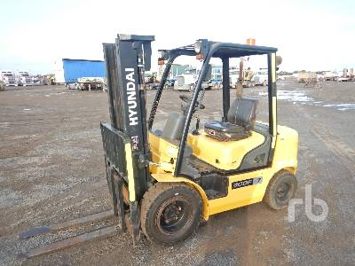 2014 HYUNDAI 30DF-7 Forklift