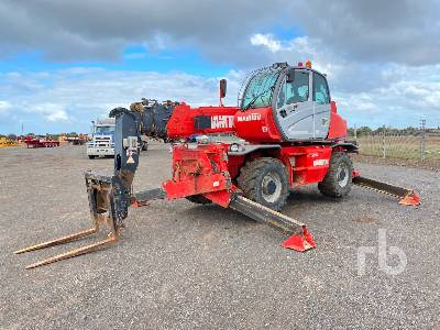 2007 MANITOU MRT2150 Privilege 4x4x4 Telescopic Forklift