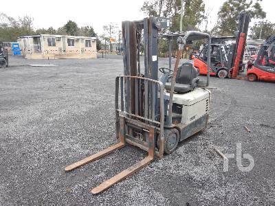 CROWN SC4500 1.6 Ton Electric Forklift