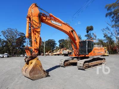 2013 DOOSAN DX420LC Hydraulic Excavator