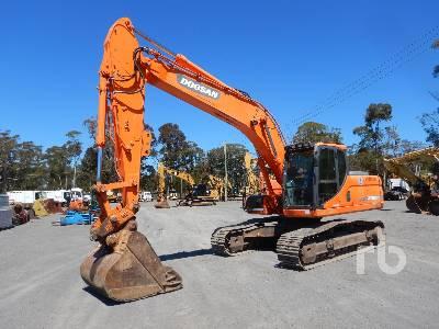 2012 DOOSAN DX225LC Hydraulic Excavator