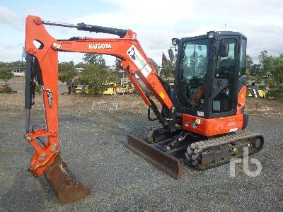 2017 KUBOTA U35-4 Mini Excavator (1 - 4.9 Tons)