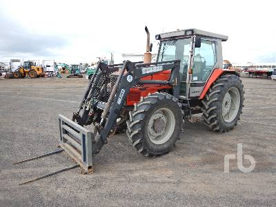 MASSEY FERGUSON 3095 MFWD Tractor