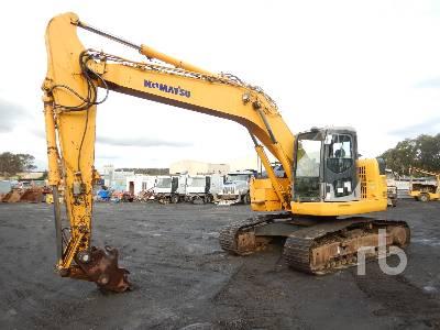 2007 KOMATSU PC228US-3E0 Hydraulic Excavator