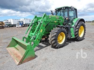 2020 JOHN DEERE 6155M MFWD Tractor