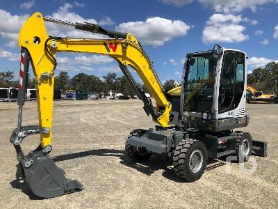 Unused 2017 WACKER NEUSON EW65 Mobile Excavator