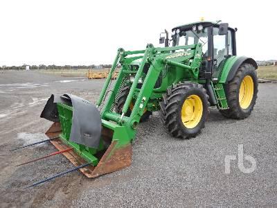 2004 JOHN DEERE 6620 PREMIUM MFWD Tractor