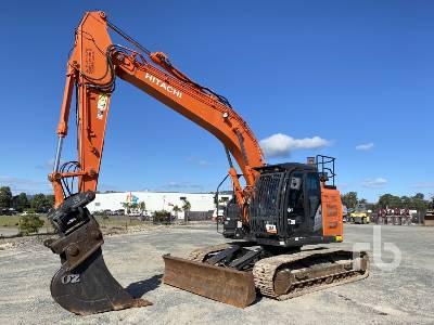 2017 HITACHI ZX225USLC-5B Hydraulic Excavator