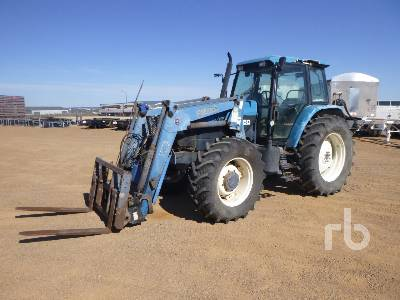FORD 8160 MFWD Tractor