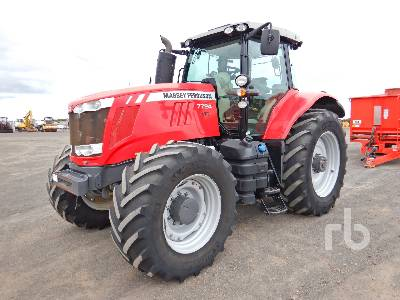 2018 MASSEY FERGUSON 7724 MFWD Tractor
