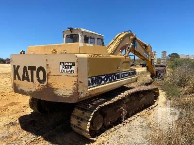 KATO HD700V II Hydraulic Excavator