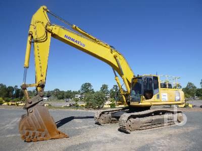 2008 KOMATSU PC450LC-8 Hydraulic Excavator