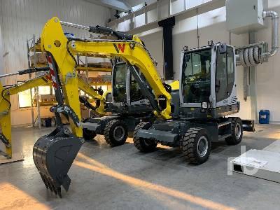 Unused 2018 WACKER NEUSON EW65 Mobile Excavator
