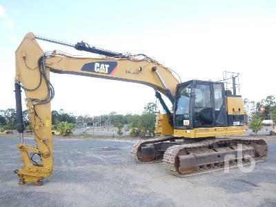 2013 CATERPILLAR 328D LCR Hydraulic Excavator