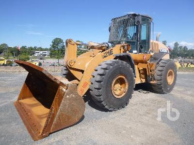 2009 CASE 821E Wheel Loader