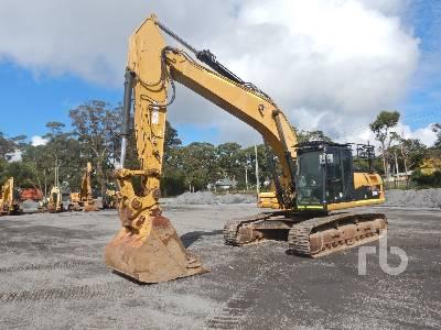 2012 CATERPILLAR 329D L Hydraulic Excavator