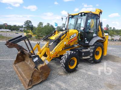 2016 JCB 3CX 4x4 Loader Backhoe