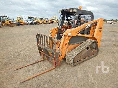 2010 CASE 420CT Series 3 2 Spd Compact Track Loader