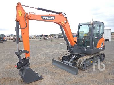 Unused 2021 DOOSAN DX55-9CN ACE Midi Excavator (5 - 9.9 Tons)