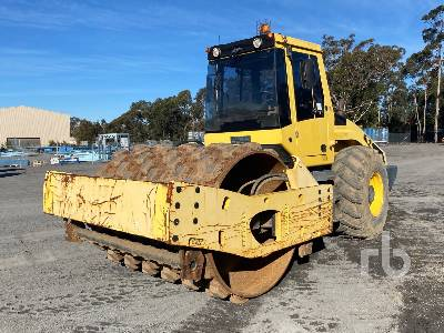 2011 BOMAG BW216PD-4 Vibratory Padfoot Compactor