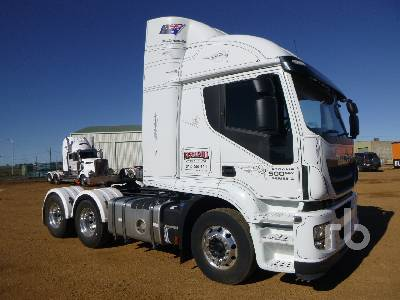 2017 IVECO STRALIS AT500 6x4 Prime Mover (T/A)