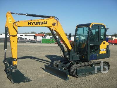 Unused 2021 HYUNDAI HX55N Midi Excavator (5 - 9.9 Tons)