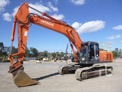 2011 HITACHI ZX350LCH-3 Hydraulic Excavator