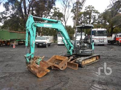 2010 KOBELCO SK55SR5 Midi Excavator (5 - 9.9 Tons)