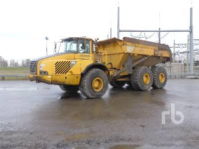 2002 VOLVO A40D 6x6 Articulated Dump Truck