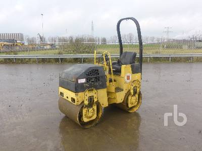 2006 BOMAG BW90AD-2 Tandem Vibratory Roller
