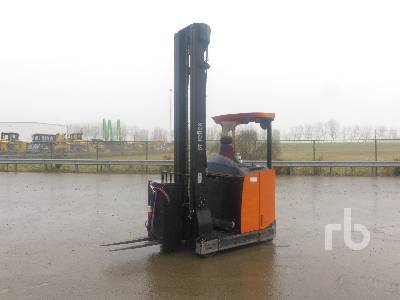 2010 BT TOYOTA RRE140E Electric Reach Truck Electric Forklift