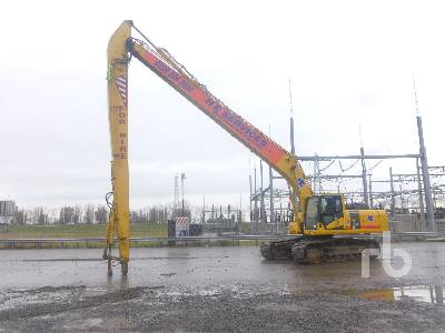 2015 KOMATSU PC360LC-10 Long Reach Hydraulic Excavator