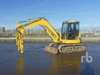 2016 KOMATSU PC80MR-3 Midi Excavator (5 - 9.9 Tons)