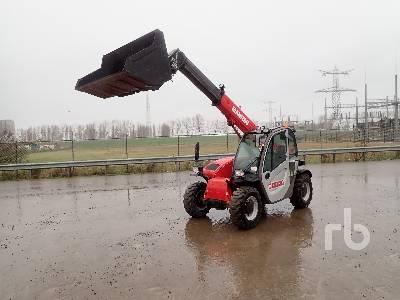 2011 MANITOU MT625 4x4x4 Telescopic Forklift