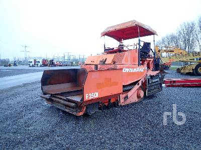 2003 DYNAPAC F25CR Asphalt Paver Parts/Stationary Construction-Other