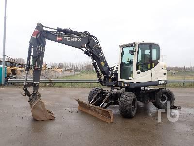 2012 TEREX TW85 4x4 Mobile Excavator
