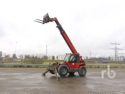 2007 MANITOU MT1440SLT 4x4x4 Telescopic Forklift