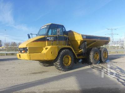 2003 CATERPILLAR 725 Articulated Dump Truck