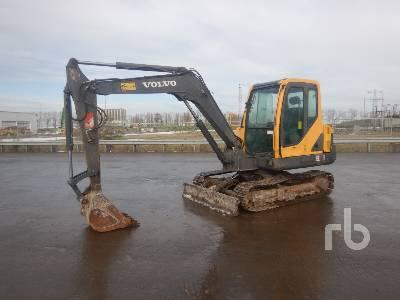 2009 VOLVO EC55B Midi Excavator (5 - 9.9 Tons)