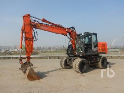 2013 HITACHI ZX140W-3 . Mobile Excavator
