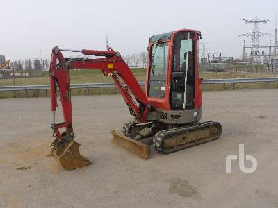 2012 YANMAR VIO20-4 Mini Excavator (1 - 4.9 Tons)