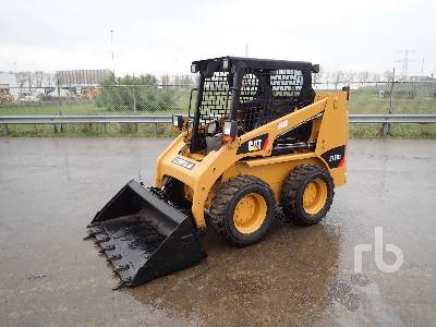 2016 CAT 216B3 LRC Skid Steer Loader