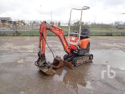 2011 KUBOTA U10-3 Mini Excavator (1 - 4.9 Tons)
