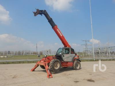 2008 MANITOU MT1440 4x4x4 Telescopic Forklift